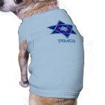 Arte de la paz de Jánuca Camisa De Perrito