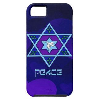 Arte de la paz de Jánuca Funda Para iPhone SE/5/5s