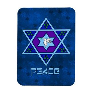 Arte de la paz de Jánuca Imán Flexible