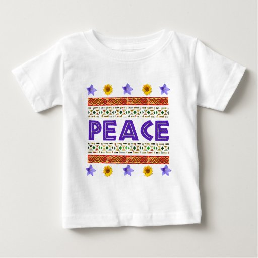 Arte de la paz playeras