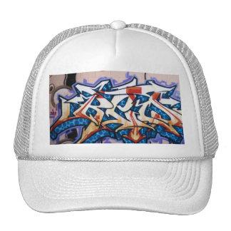 Arte de la pintada de la calle gorro