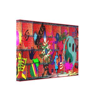 arte de la pintada del color de la U-selección en Lona Estirada Galerías