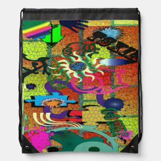 arte de la pintada del color de la U-selección en Mochila