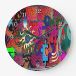 arte de la pintada del color de la U-selección en Reloj