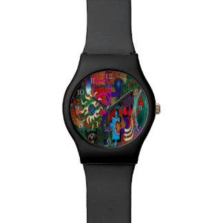 arte de la pintada del color de la U-selección en Relojes De Pulsera