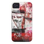 Arte de la pintada iPhone 4 Case-Mate carcasa