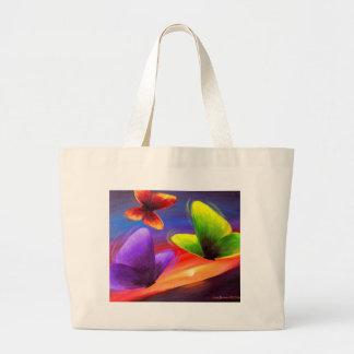 Arte de la pintura de la mariposa - multi bolsa
