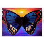 Arte de la pintura de la mariposa - multi felicitación
