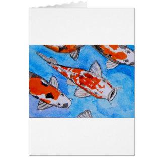 Arte de la pintura de la naturaleza de la acuarela tarjetón