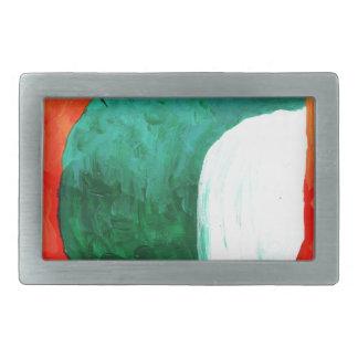 Arte de la pintura del dibujo de la diversión del hebillas cinturon rectangulares