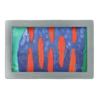 Arte de la pintura del dibujo de la diversión del hebillas de cinturon rectangulares