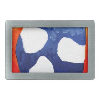 Arte de la pintura del dibujo de la diversión del hebillas de cinturón rectangulares