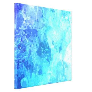 Arte de la pintura del goteo del mundo de Icey por Lona Estirada Galerías