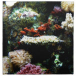 Arte de la planta del acuario servilletas de papel