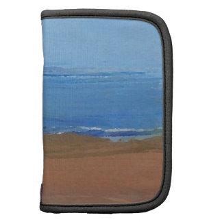 Arte de la playa del océano de las reflexiones de  organizadores