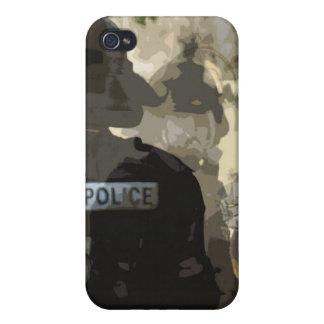 Arte de la policía de Iphone 4 iPhone 4 Coberturas