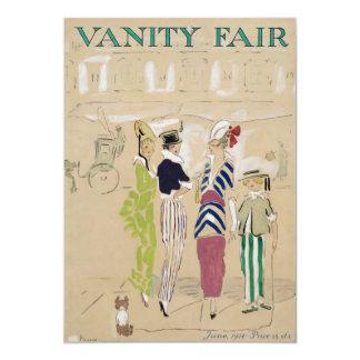 """Arte de la portada de revista de Vanity Fair a Invitación 5"""" X 7"""""""