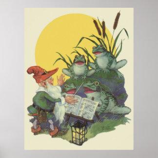 Arte de la portada de revista del Etude Coro de l Impresiones