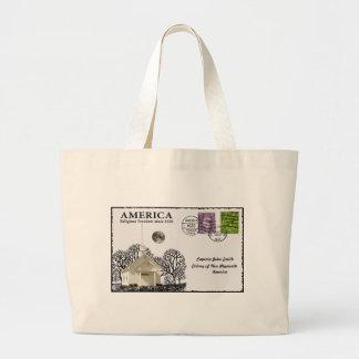 Arte de la postal bolsas