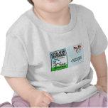Arte de la postal camiseta