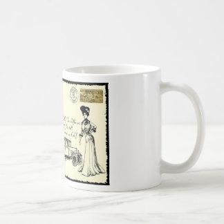 Arte de la postal taza