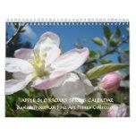 Arte de la primavera del calendario de los FLORES