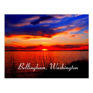 Arte de la puesta del sol tarjetas postales