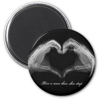 Arte de la radiografía imán redondo 5 cm
