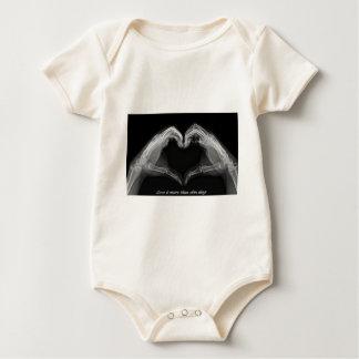 Arte de la radiografía traje de bebé
