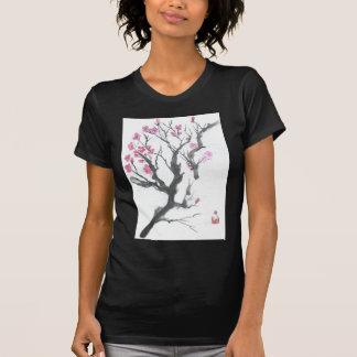 Arte de la rama del flor del ciruelo de la primave playera