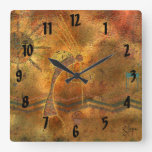 Arte de la roca de Kokopelli Relojes