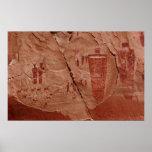 arte de la roca de los canyonlands poster