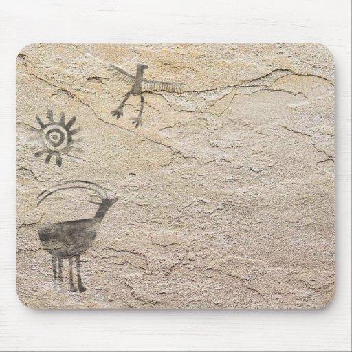 Arte de la roca tapetes de ratón