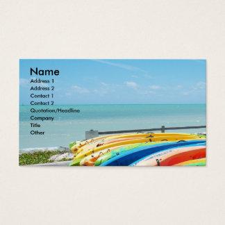 Arte de la tarjeta de visita de Key West la