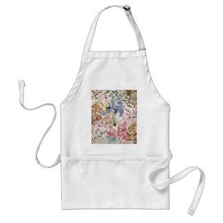Arte de la tela de seda de la alga marina delantal