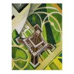 Arte de la torre Eiffel de Roberto Delaunay Postal