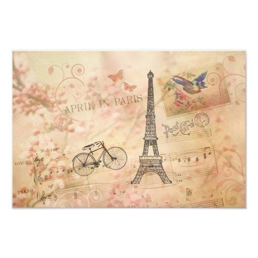 Arte de la torre Eiffel del vintage Cojinete