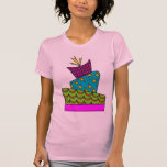Arte de la torta camiseta