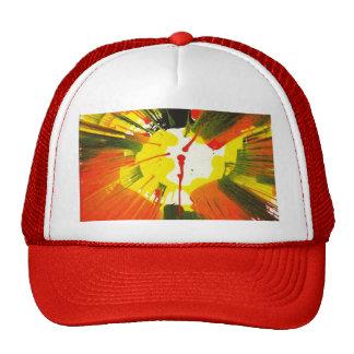 Arte de la vuelta de los colores de la caída de la gorras