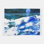 Arte de las olas oceánicas de la canción de la lun toallas