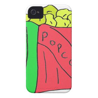 Arte de las palomitas iPhone 4 protector