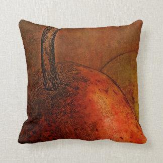 Arte de las peras del Viejo Mundo Almohada