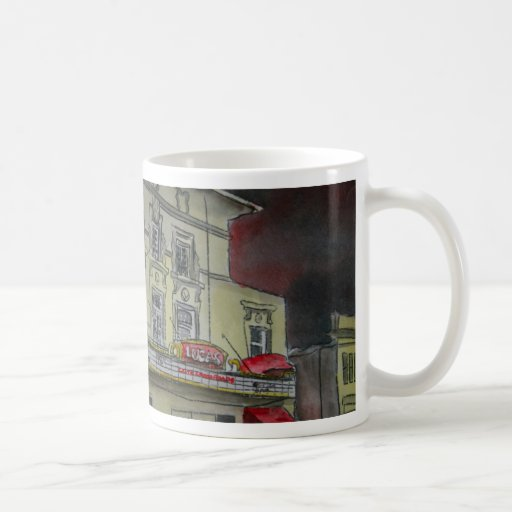 Arte de los artistas de Georgia de la sabana del Taza De Café