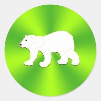 Arte de los niños - pegatinas del oso polar