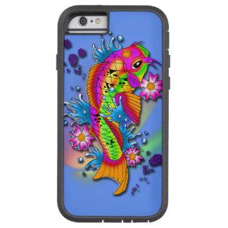 Arte de los pescados de Koi Funda Para iPhone 6 Tough Xtreme