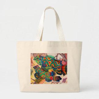 Arte de los pescados del mandarín bolsas