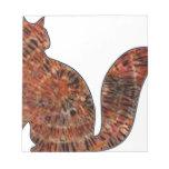 arte de madera del batik del gato bloc