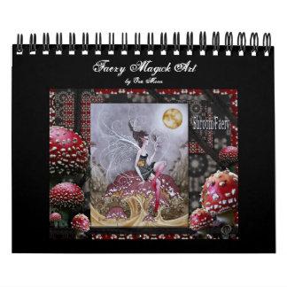 Arte de Magick del Faery Calendarios