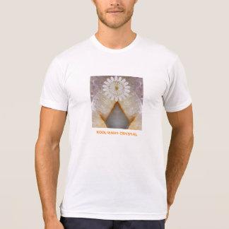 Arte de mármol cristalino del templo del vintage d camisetas