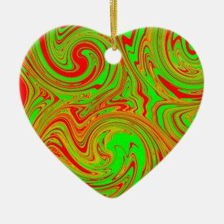 Arte de mármol rojo y verde adorno de reyes